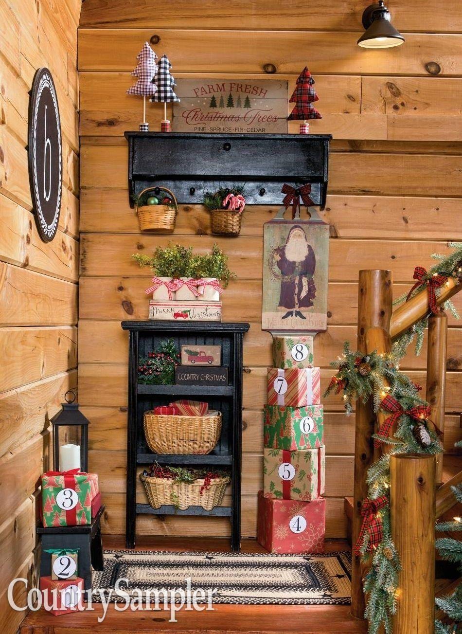 Buffalo checks and classic christmas motifs inspire our