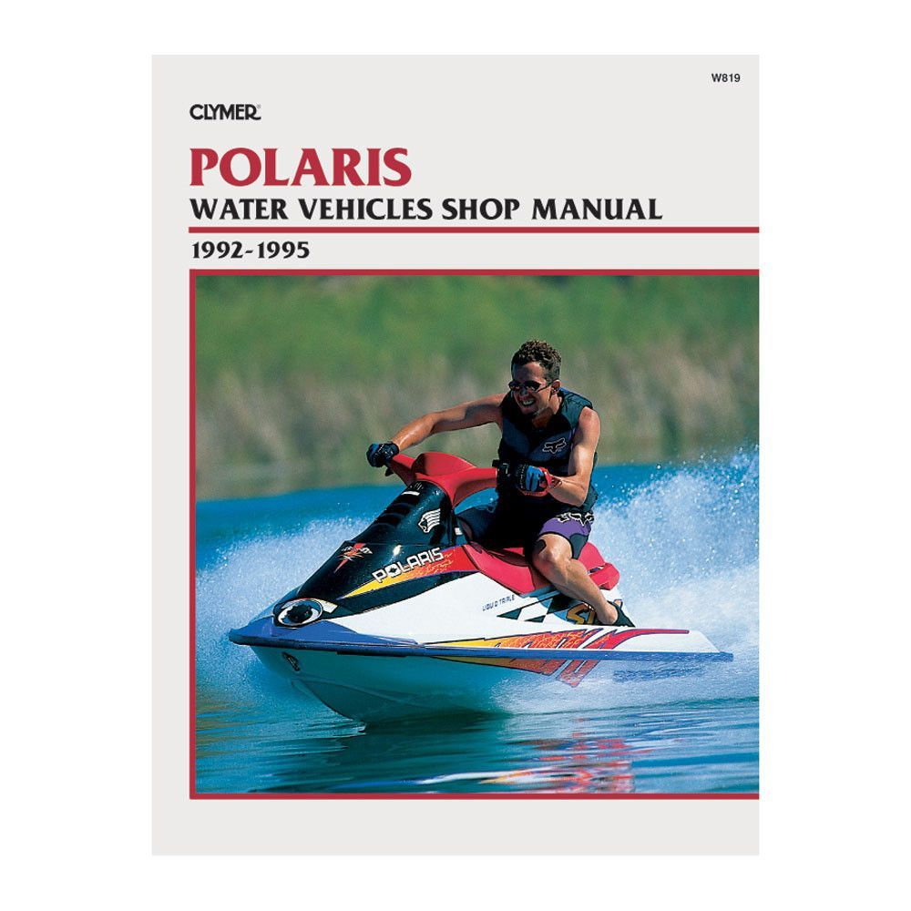 Clymer Polaris Jet Ski & Water Vehicles (1992-1995)