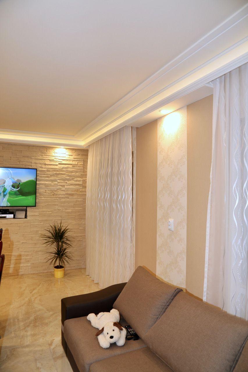 Wohnzimmer Stuckleisten Deckengestaltung Led Beleuchtung Indirekte Beleuchtung Beleuchtung Stuckleisten