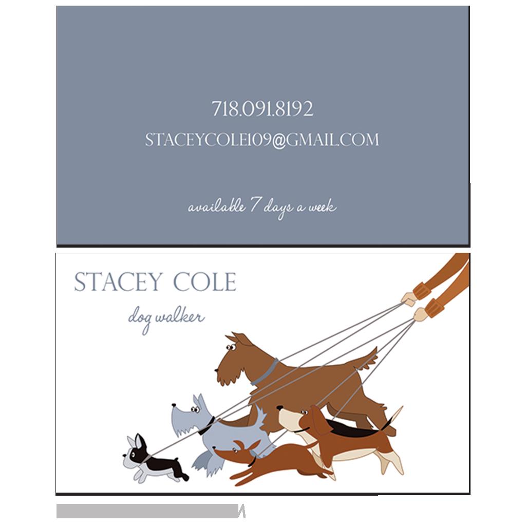 dog walker business cards … | Dog Walker | Pinterest | Dog, Dog ...