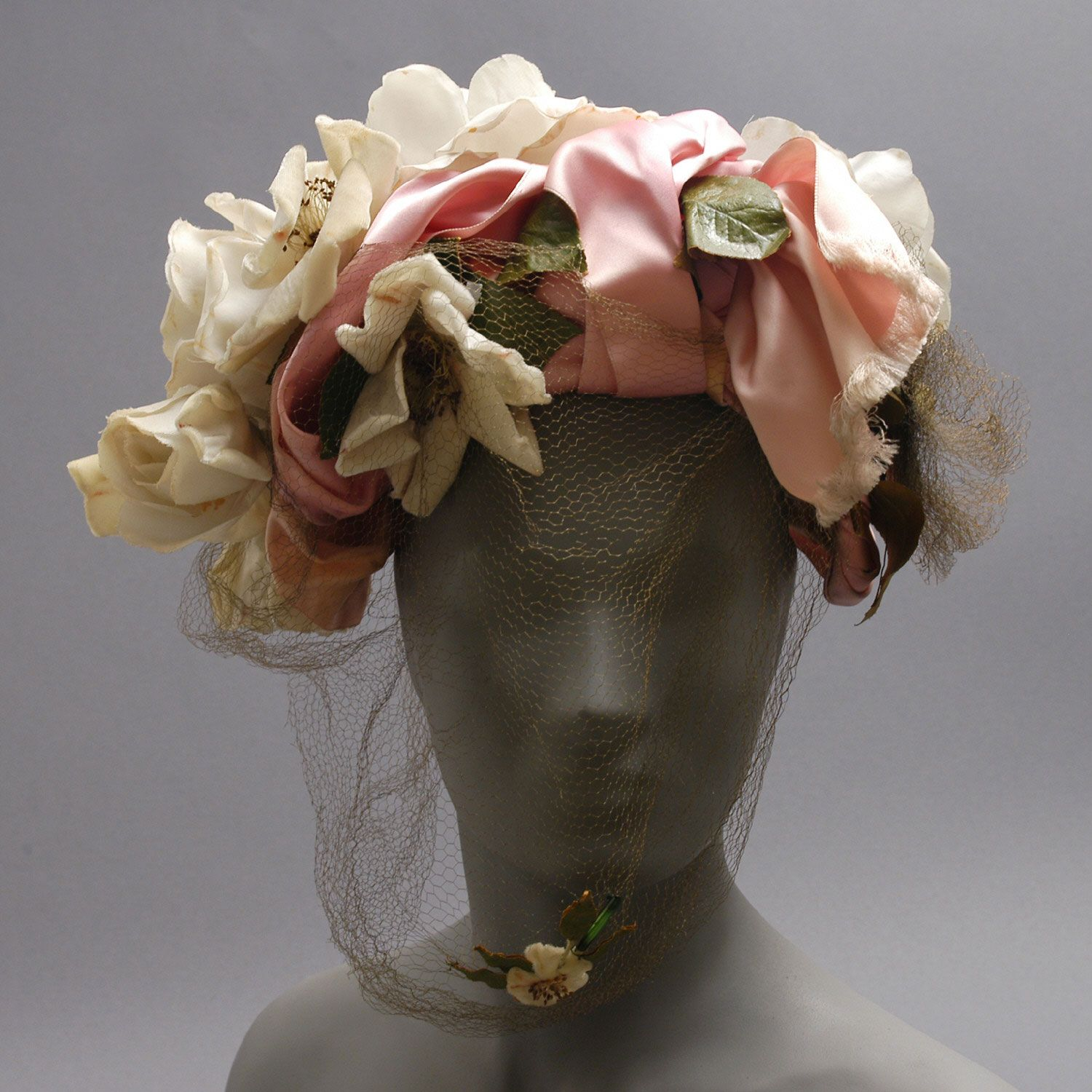 Womans Hat Designed By Lilly Dach American Born France Date