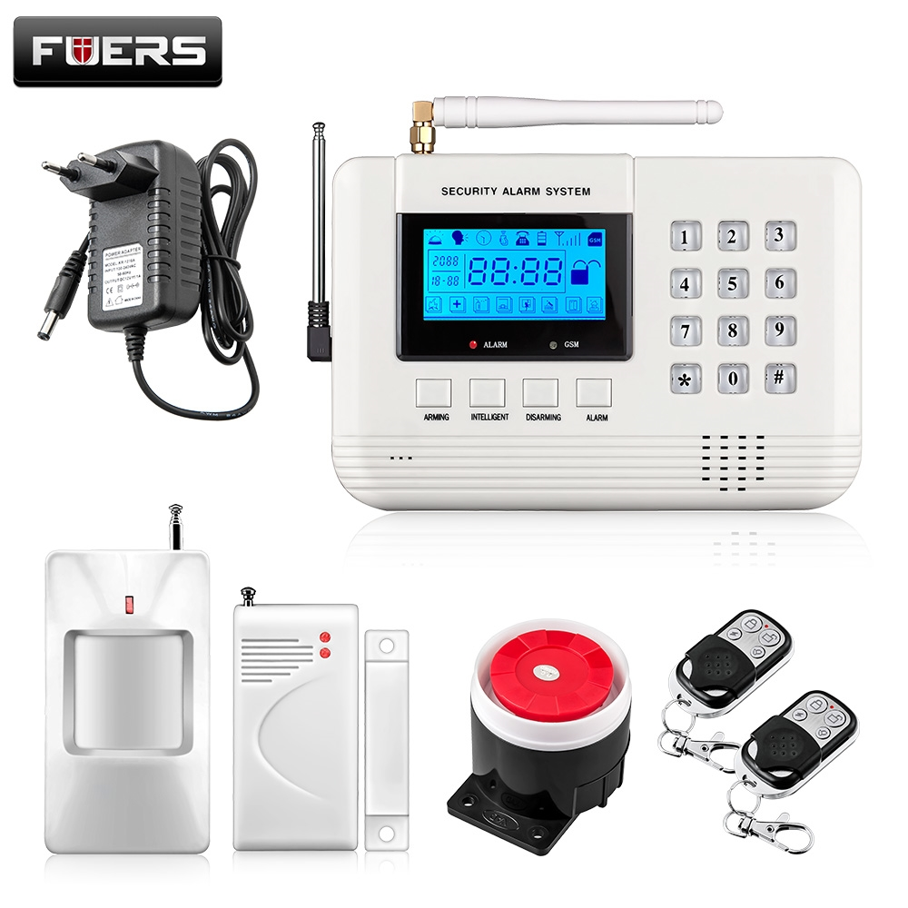 42 99 Here Wireless Pstn Gsm Home Alarm System For Office House Security