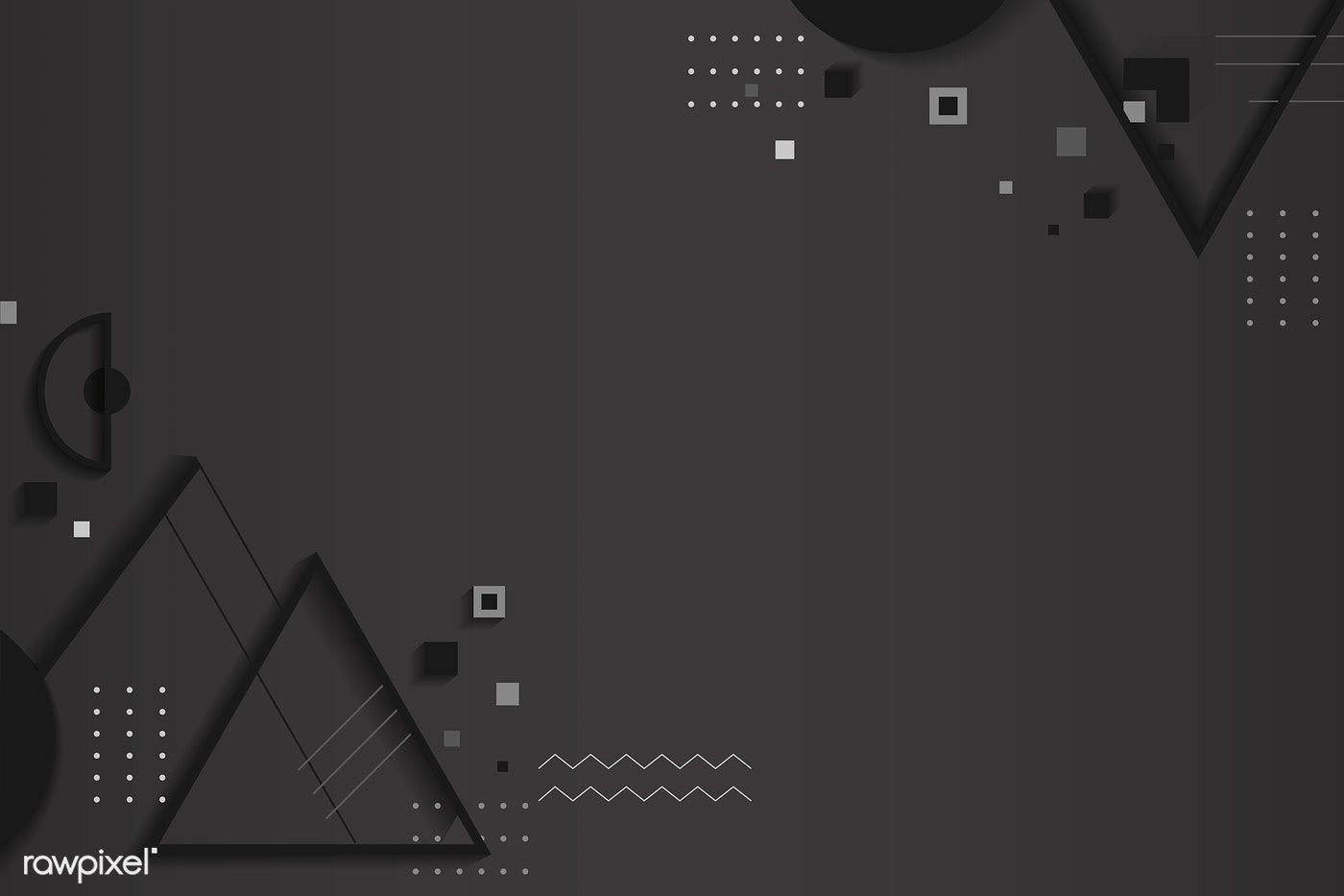 Dark Gray Abstract Geometric Background Vector Free Image By Rawpixel Com Minty