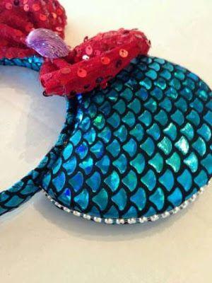 bonitas bellas ideas para hacer diademas de minie