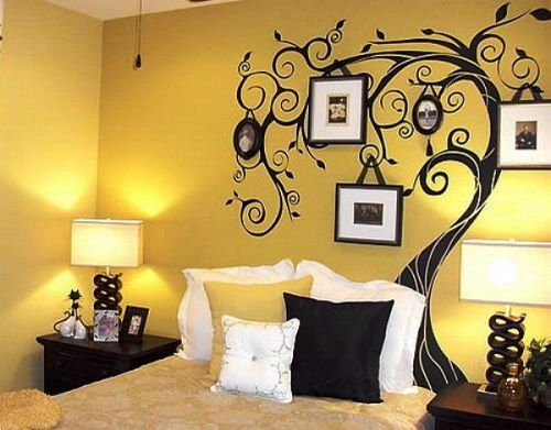 Yellow Wall Art Ideas Can Be Fun And Daring - http://www ...