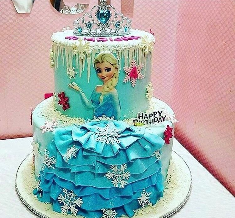 Fine Pin By Payal Khanna On Yona Birthday Frozen Birthday Cake Birthday Cards Printable Trancafe Filternl