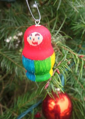 diy russian doll ornament christmas traditions ornament and dolls