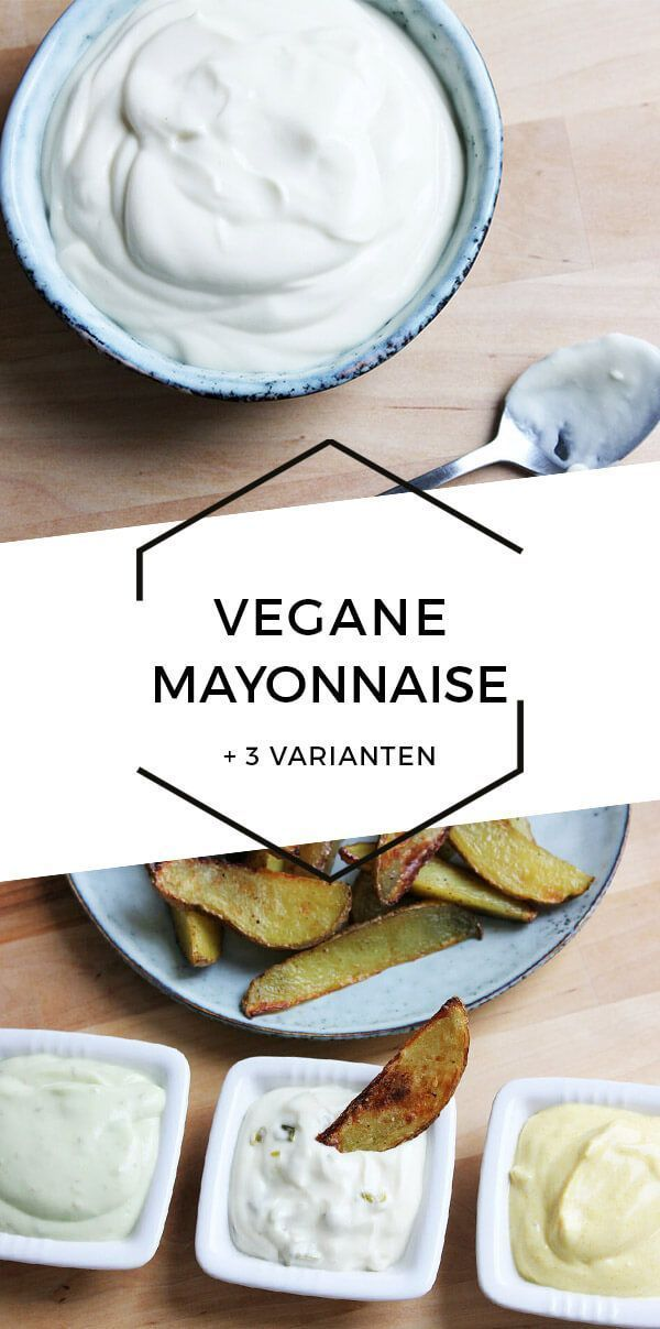 Vegane Mayonnaise + 3 leckere Varianten | Cheap And Cheerful Cooking
