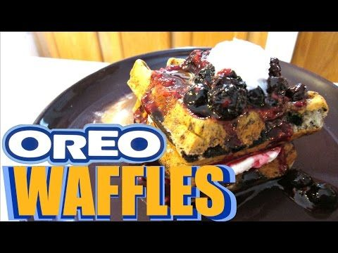 Oreo Waffles | Poor Man's Gourmet Kitchen