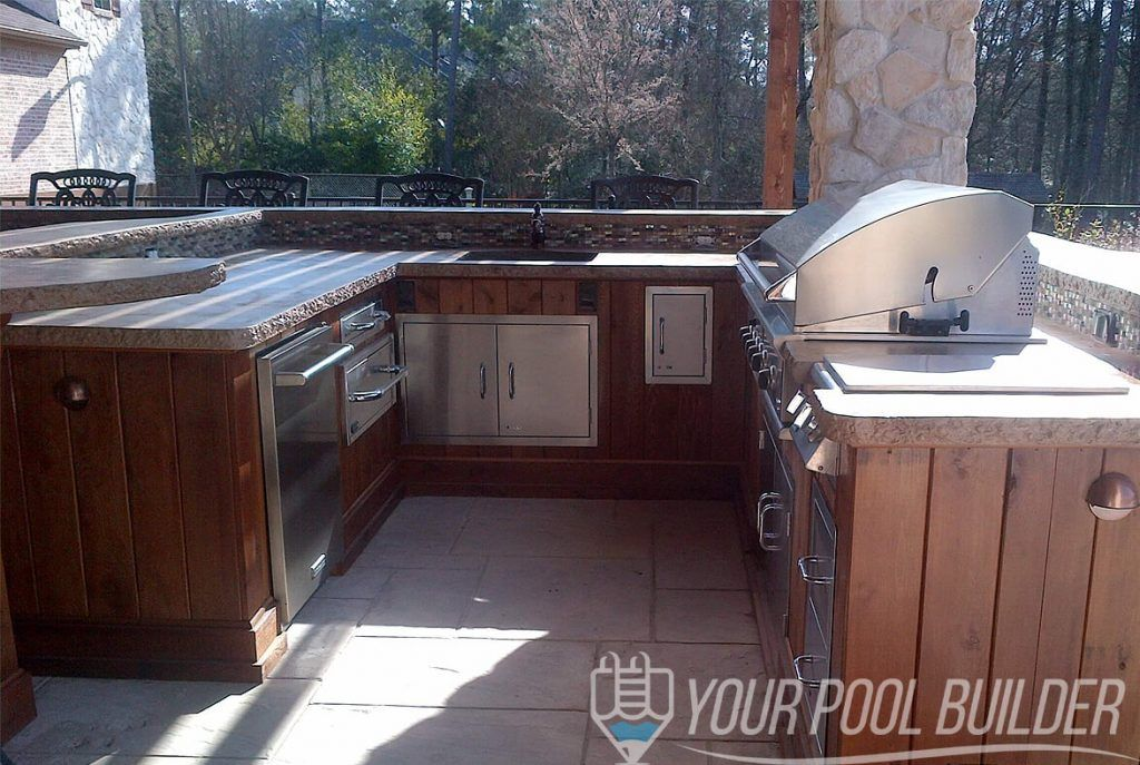 Outdoor Living Construction Patio Remodel Outdoor Kitchen Outdoor Kitchen Patio