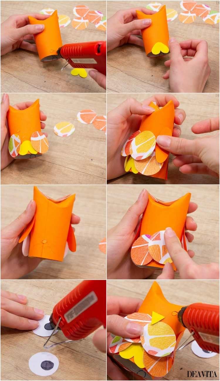 Photo of Bricolages en papier et rouleaux en carton: 10 projets avec des instructions