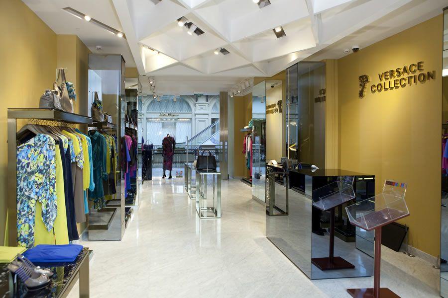 Versace gruppo gibam arredamento specializzato per negozi for Negozi arredamento ancona