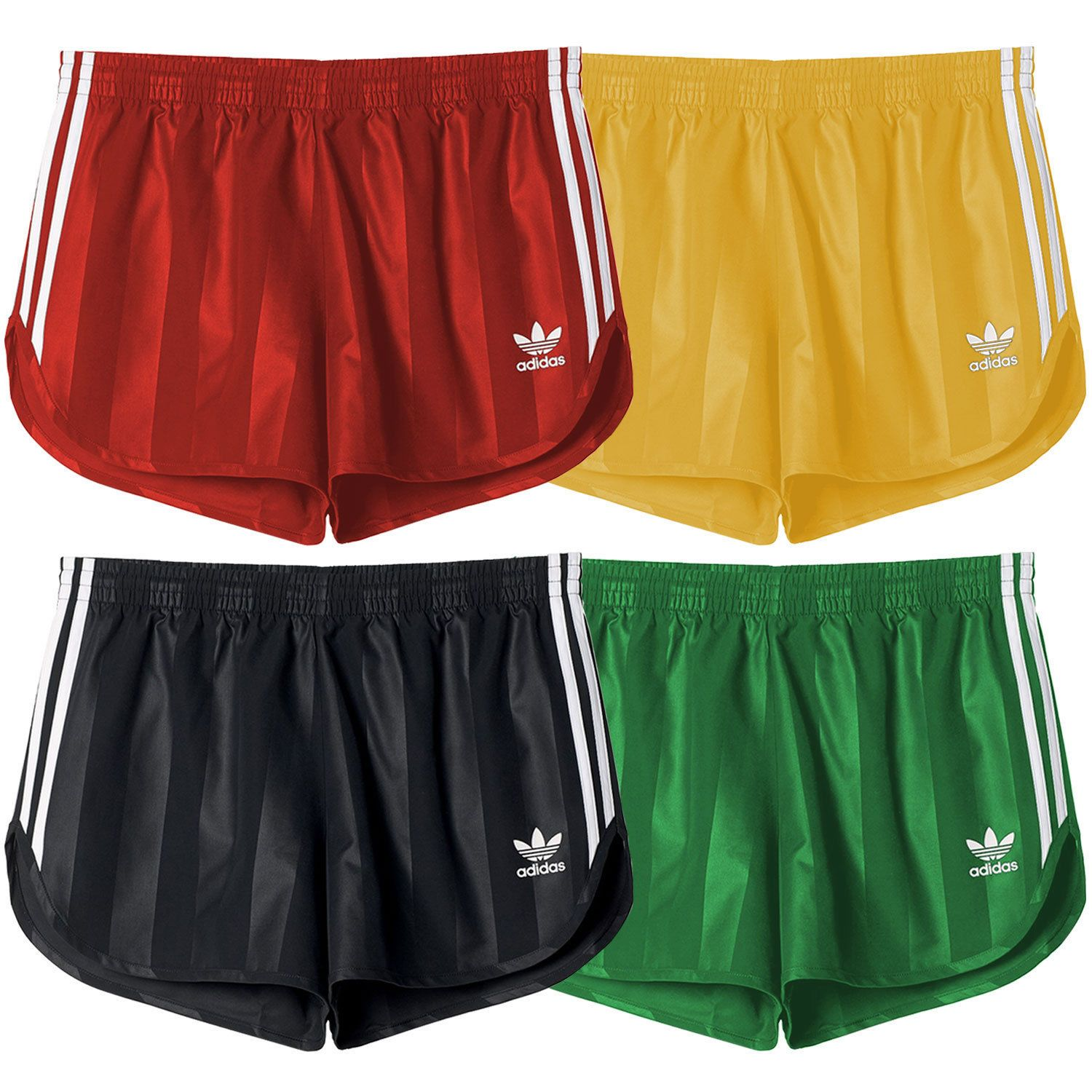 5301673d23 Adidas Originals Men's Retro Trefoil Vintage Inspired Polyester Football  Shorts