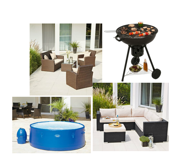 Half price on garden furniture and barbecues at Argos Get