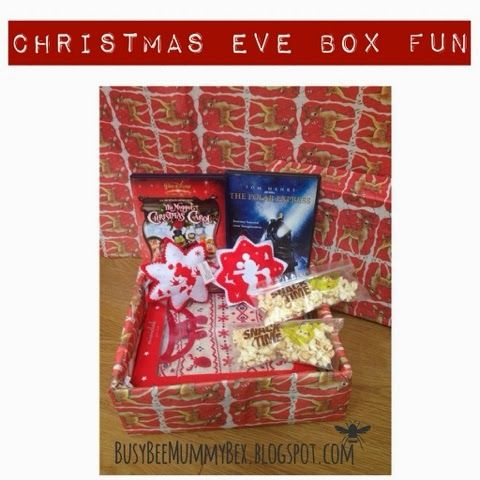 BusyBee DIY your own Christmas Eve Surprise Box Christmas box