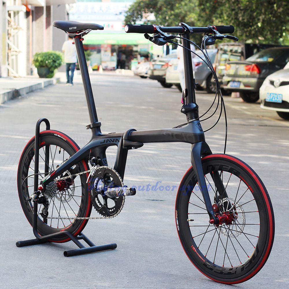 "JAVA AIR 20"" 451 Carbon Folding Bike Mini velo Bicycle"