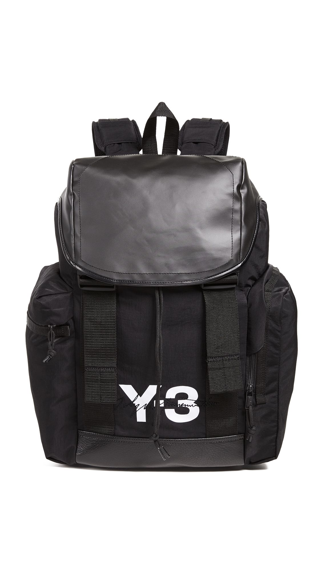 8d6d83d338e3 Y-3 MOBILITY BACKPACK.  y-3  bags  leather  canvas  backpacks
