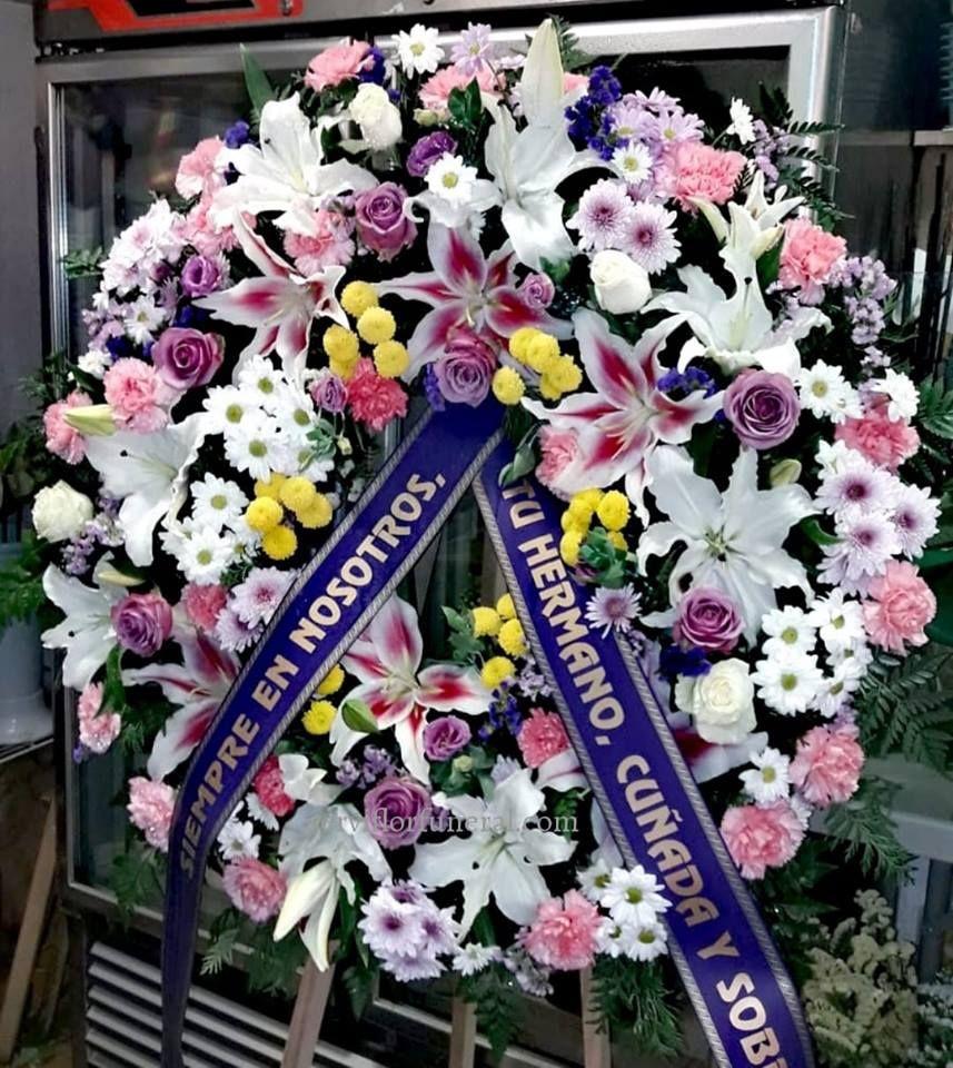 Coronas De Flores Para Funerales Sin Cabezal Arreglos