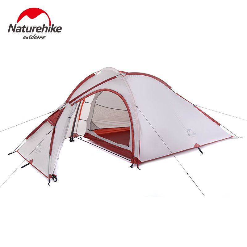 Hiking tent  sc 1 st  Pinterest & Naturehike Camping Tent 3 Person 20D Silicone 4 Season Aluminum ...