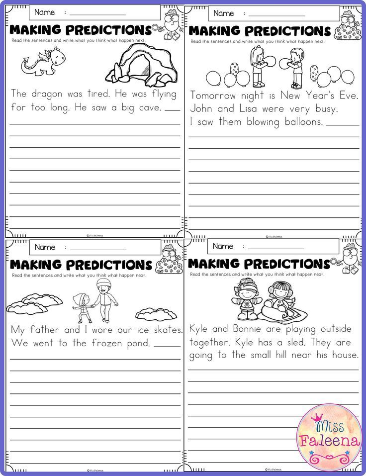 January Making Predictions Teaching First Grade Third Grade Worksheets Elementary Resources Predictions worksheets 1st grade