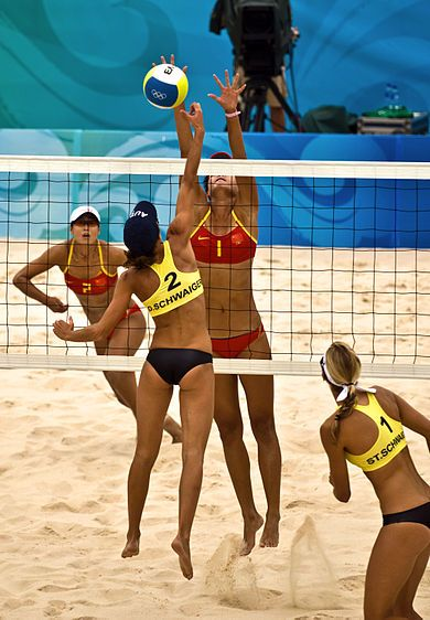 Girls That Play Volleyball Probably Have Some Of The Best Bodies Ever Beach Volleyball Sports Psychology Sports Women