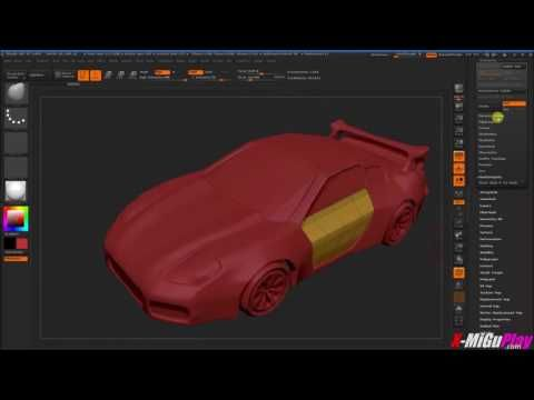 ZBrush FBX import fix mesh issues  IGDWS fix topology, smooth