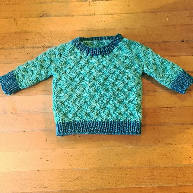 Ravelry: Project Gallery for Little Coastal Pullover pattern by Hannah Fettig $6.00
