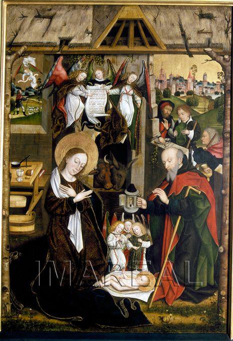 Jörg Stocker (1484-1514 detectable) atribuye Augsburgo; Alemania; Suabia; Catedral de la Visitación  Notas: 200x140; Iglesia parroquial Unterknöringen, ex alto altar
