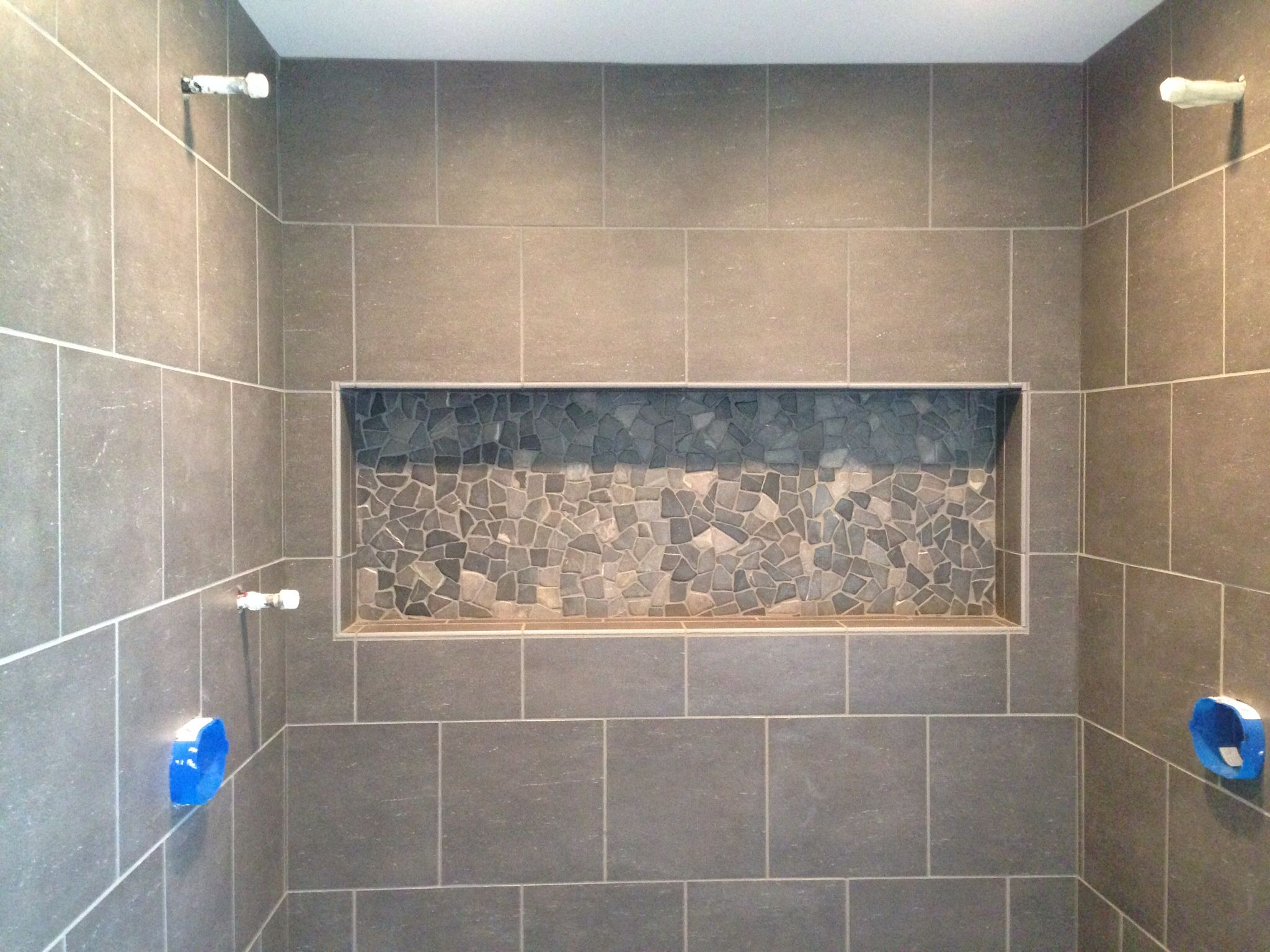 Pin By Suzanne Reed On Custom Shower Cubbies Traditional