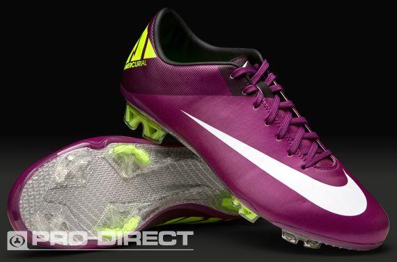 Nike Mercurial Vapor Superfly III - Botas de fútbol, color ciruela, 6 UK