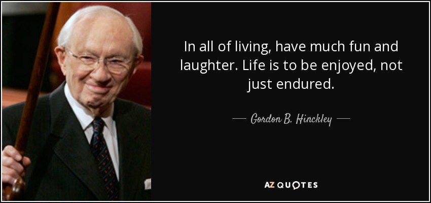 Gordon B Hinckley Quotes Best 20 Timeless Life Lessons From Gordon Bhinckley  Wise Quotes
