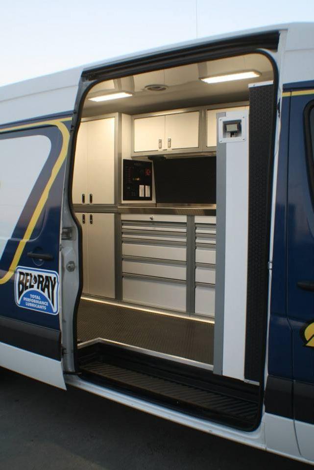 Custom Built Sprinter Van By Rb Components Custom Trailers Sprinter Van Custom Build