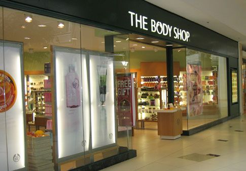 The Body Shop store front | Cosmetics Retail Shops in 2019