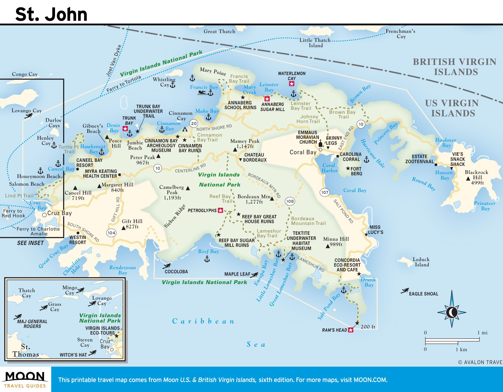 Image result for st john map | Dining Room | Printable maps ...