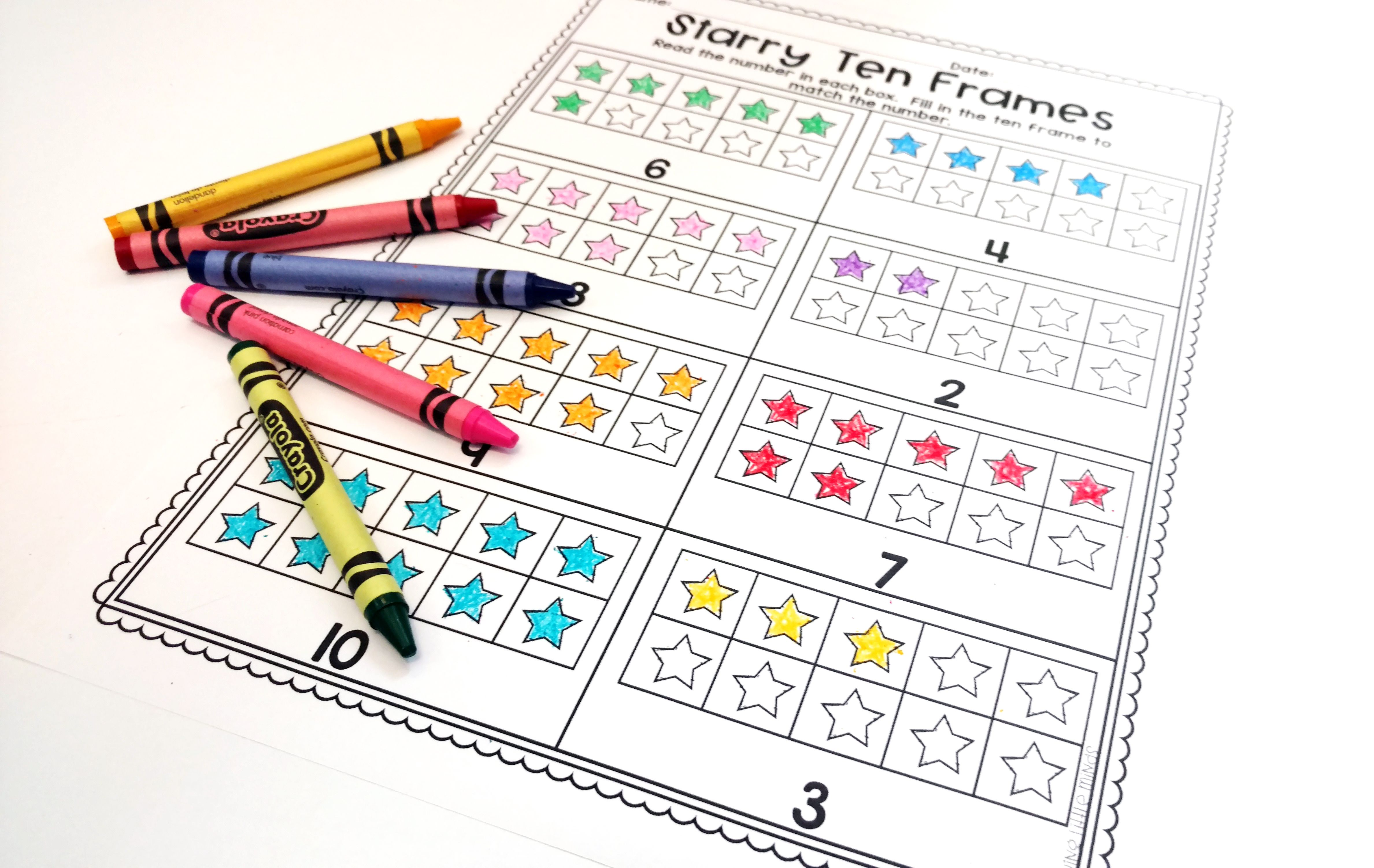 Printable Practice Counting And Numbers Great For