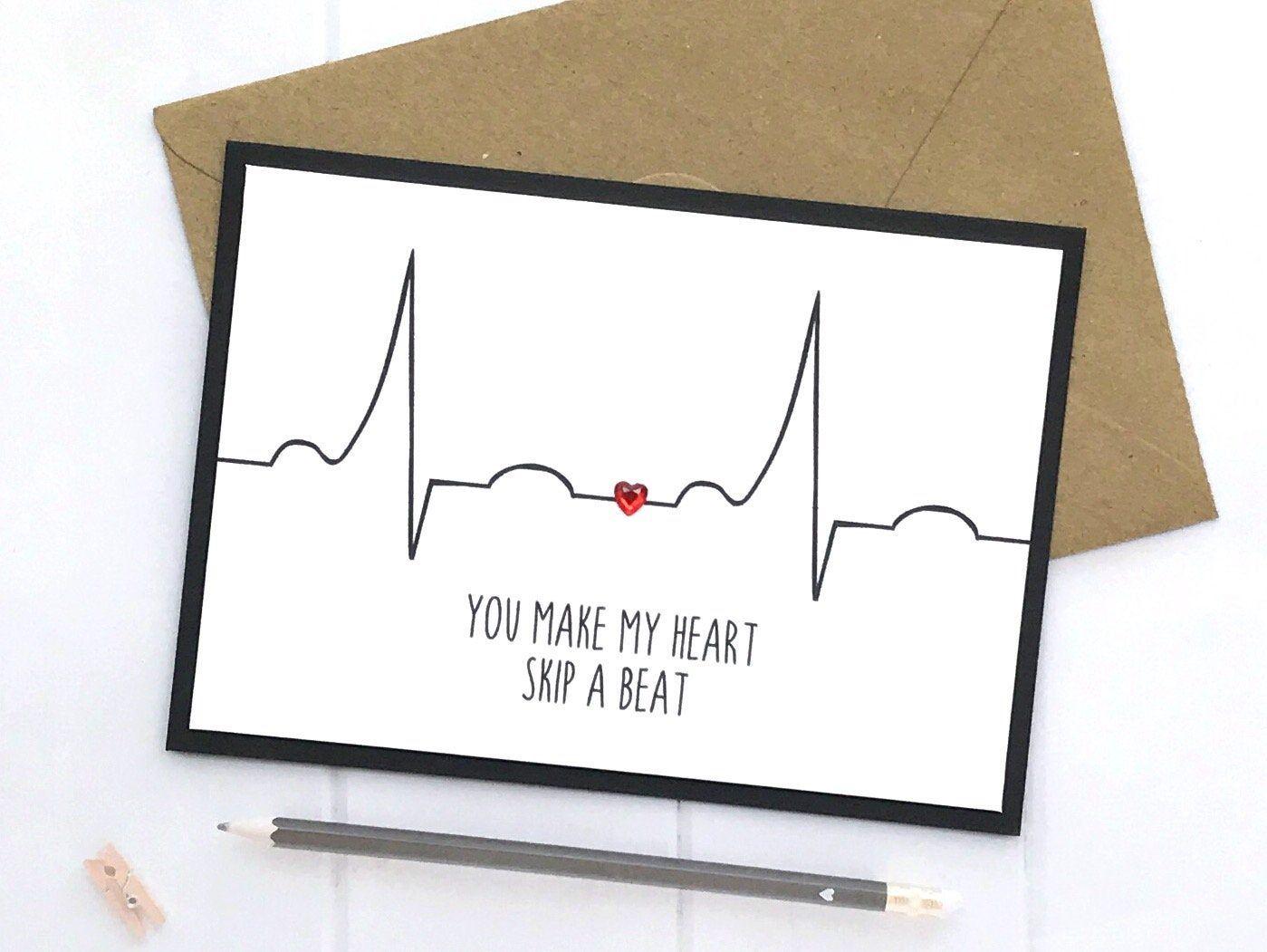 Anniversary card for husband anniversary card boyfriend