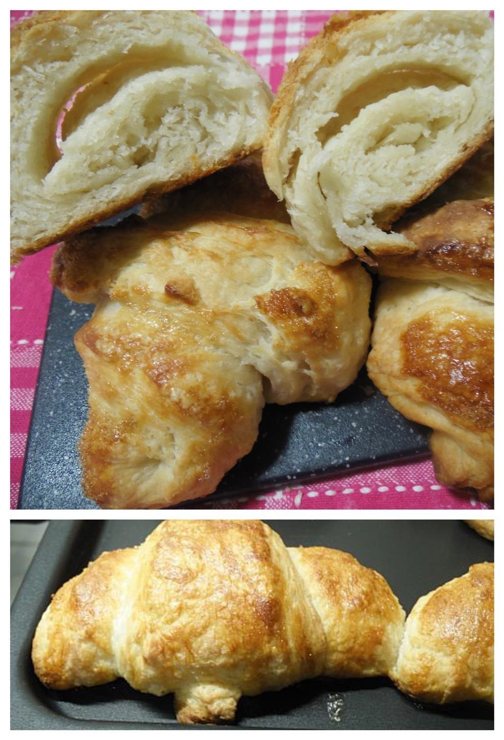 Croissant Ricette