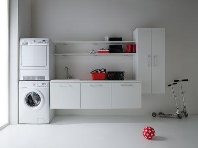Immagine di Idrobox 01, composizione arredo lavanderia