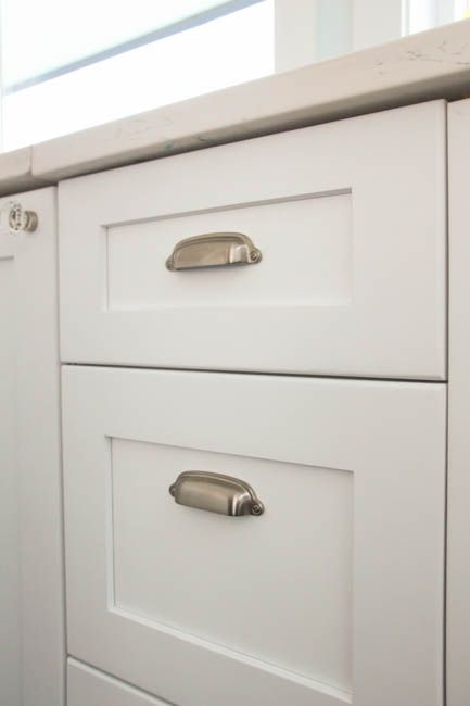 How To Install Cabinet Knobs With A Template A Trick For