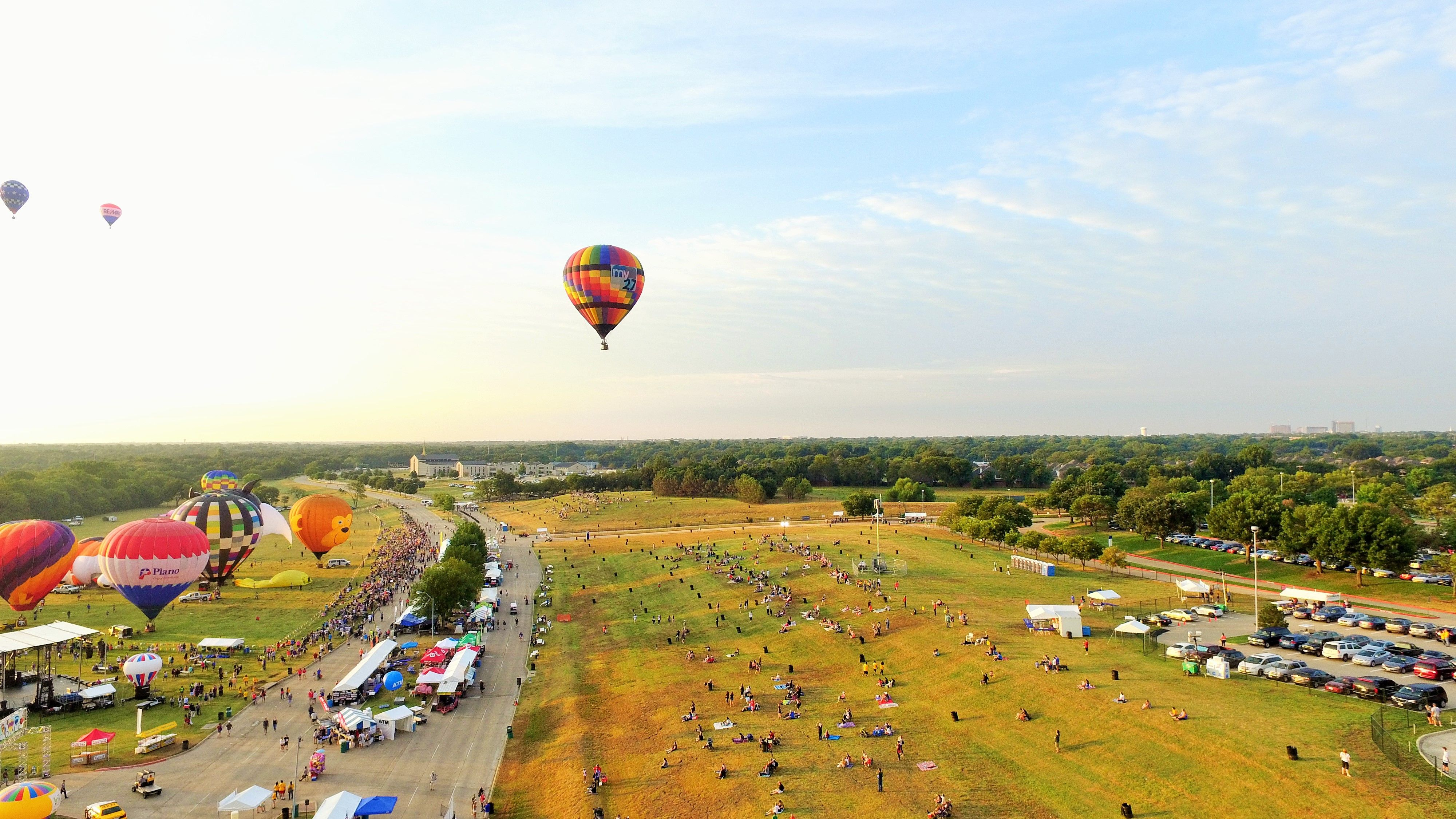 2015 InTouch Credit Union Plano Balloon Festival held at