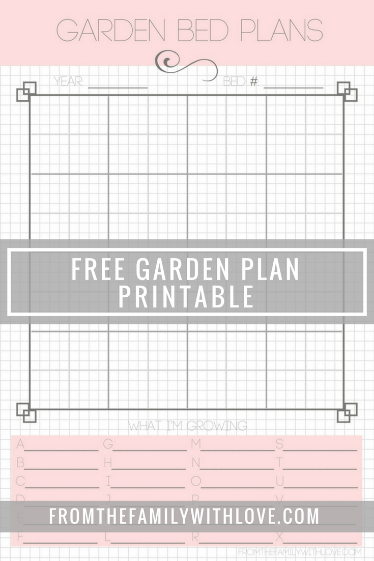photo relating to Free Printable Garden Planner titled Free of charge Printable Yard Planner How Does Your Backyard garden Increase