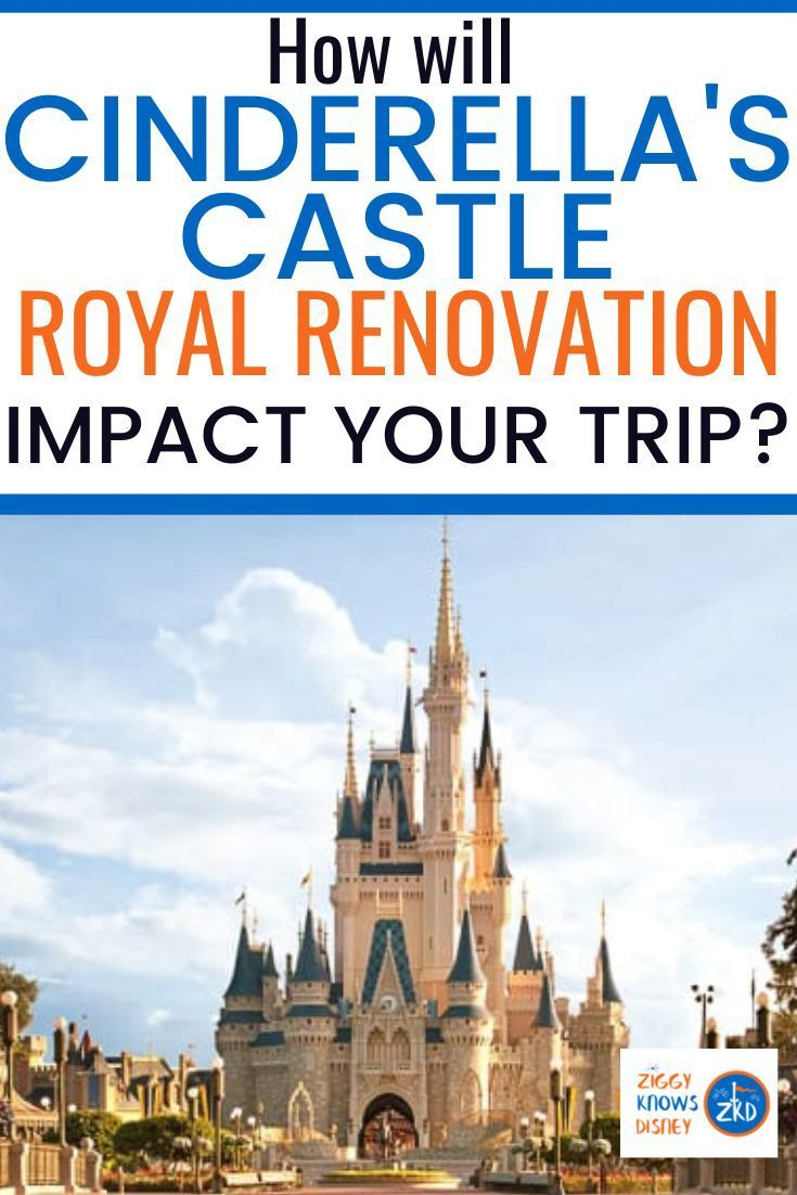Cinderella Castle Refurbishment Update: Colors, Start and Completion and How Much Will Be Covered