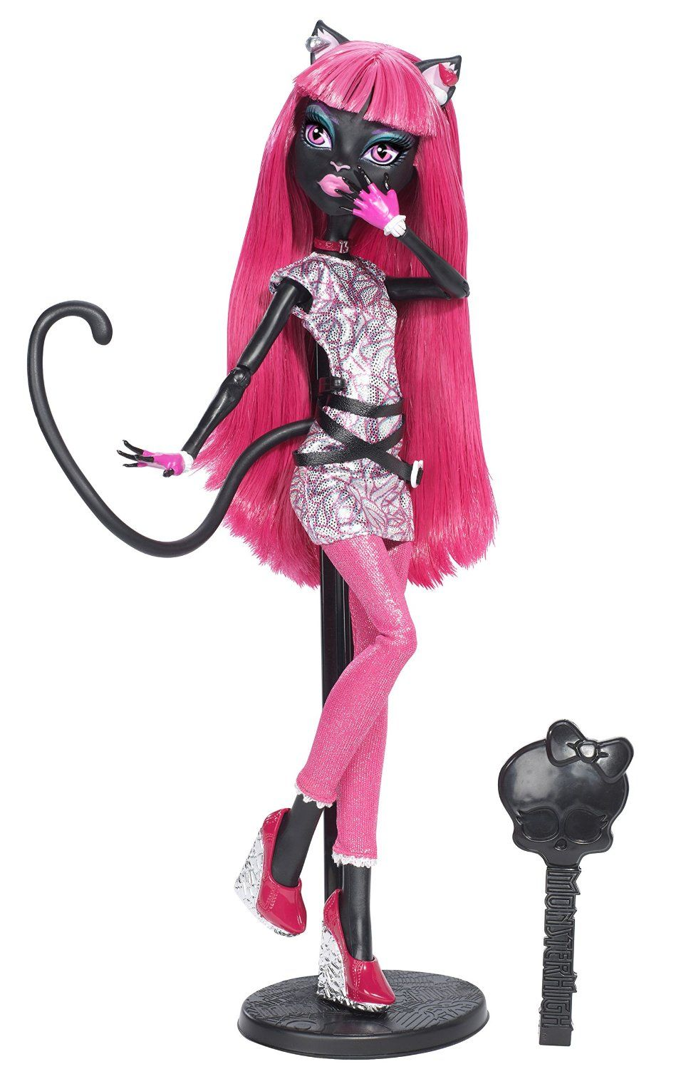Amazon Com Monster High New Scaremester Catty Noir Doll Toys Games Monster High Characters Monster High New Monster High Dolls