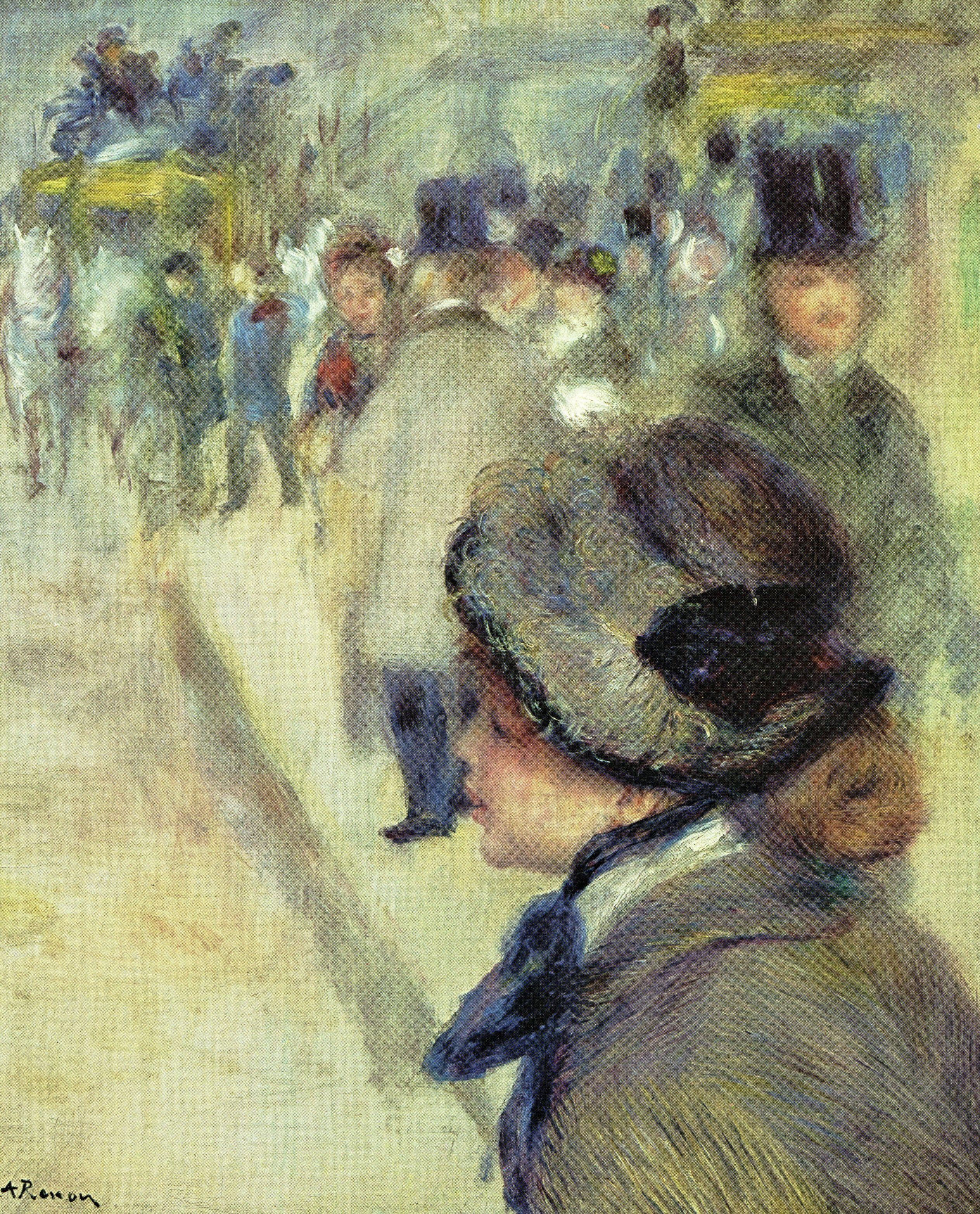 ルノアール 1880 クリシー広場 | ルノアール(ルノワール) Pierre ...