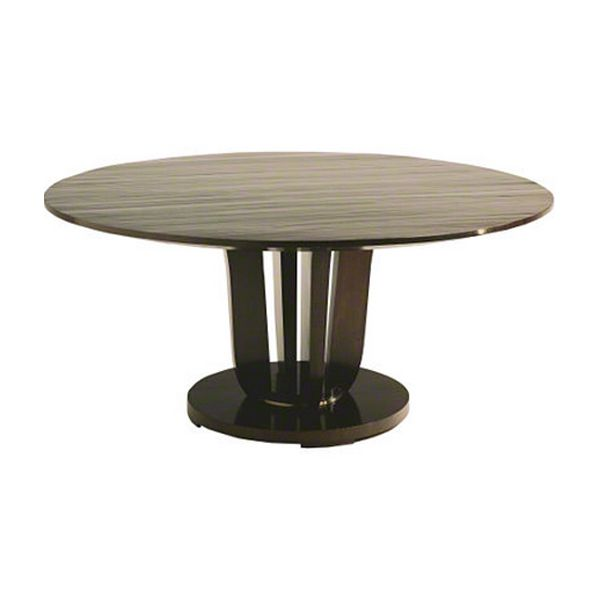 Baker Round Dining Table By Barbara Barry Meja Dinding