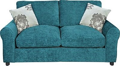 Argos Ava Fabric Sofa Review Pillow Ideas For Grey Buy Home Tessa Bed Teal At Co Uk Visit