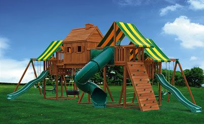 Canadian maker of swing sets. Also carry rubber mulch and ...