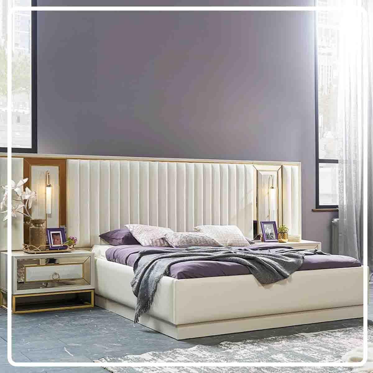 اثاث مصر غرفة نوم كريستالة Small Room Bedroom Bedroom Bed Design Bedroom Furniture Design