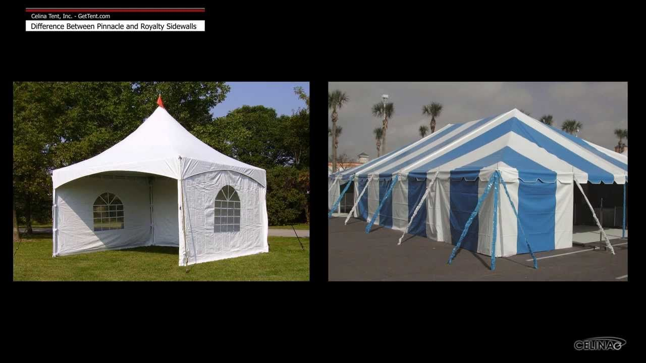 Each #tent #brands has corresponding sidewalls  The two most