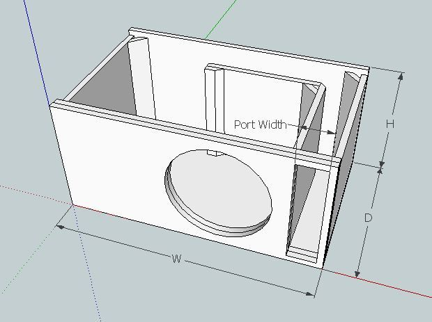 Im currently in the middle of designing a box for a rockford t1 znalezione obrazy dla zapytania subwoofer box design for 12 inch sciox Images